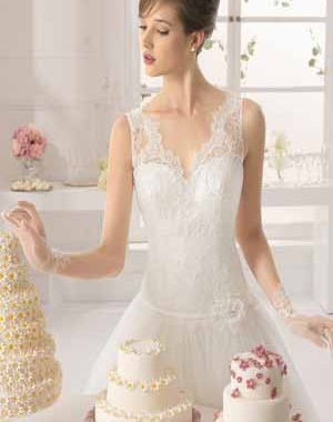 Vestidos de fiesta de azahar novias